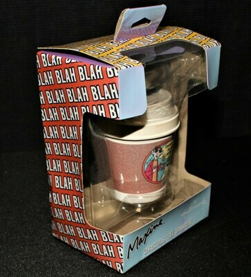 """Hallmark Maxine & Floyd """"Caution: Hot & Bothered"""" Coffee Cup Ornament in Box"""