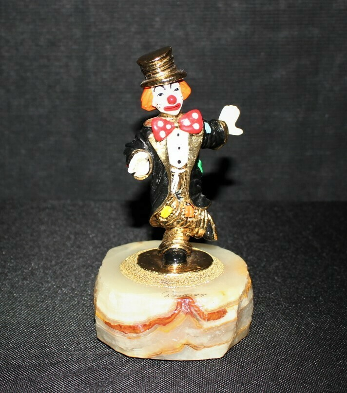Ron Lee 1994 Chip Off the Old Block Clown Sculpture Figurine #CCG8, Signed