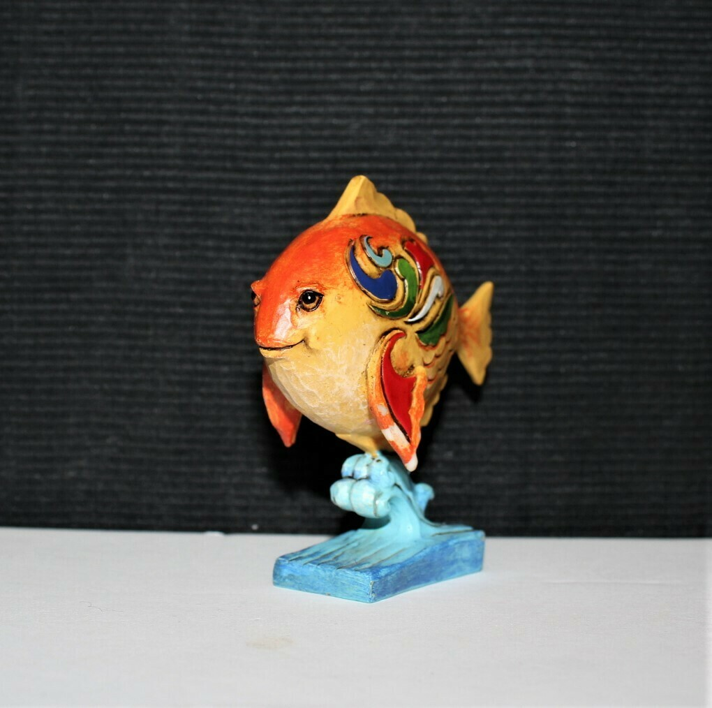 Jim Shore Miniature Tropical Fish Heartwood Creek Enesco Figurine