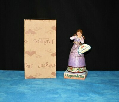 Jim Shore 2006 I Appreciate You Girl Angel Figurine in Original Box #4007241
