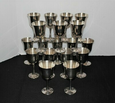Set of 18 Salem Portugal Silverplate 5 5/8