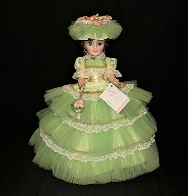 """Madame Alexander MORISOT 21"""" Portrait Series Doll #2236 Complete in Box"""