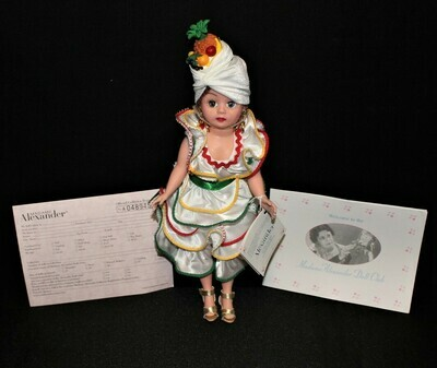 """Madame Alexander Lucy's Rhumba 10"""" Lucille Ball Doll #25760 w/ Hang Tag"""