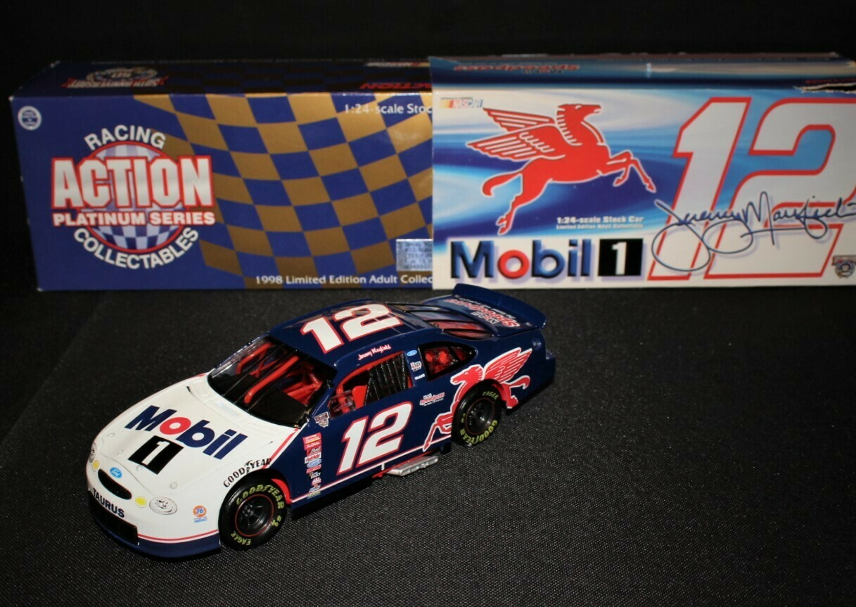 Mobil 1 Jeremy Mayfield Ford Taurus Limited Edition Speedpass Race Car in Box