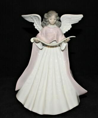 Lladro Angel Tree Topper 5831 Girl Porcelain 7