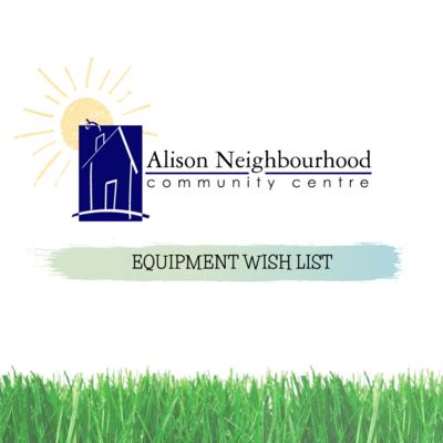 Equipment Wish List Donations