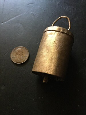Metal bell spell cast emits anointing to increase spiritual activity