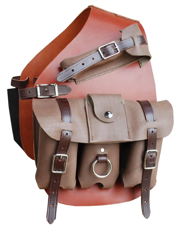 Three Pouch Medicine Bag