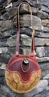 Leather Western Canteen