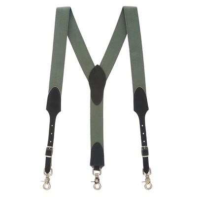 Cactus Green suspenders
