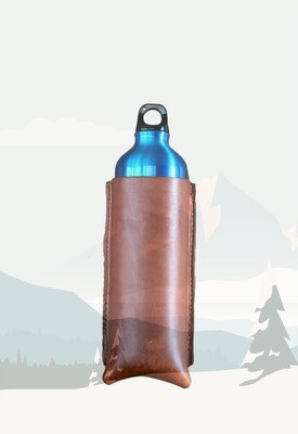 Back cinch bottle holder