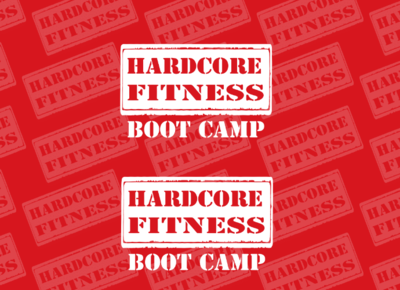 Hardcore Fitness Branded Table Cover