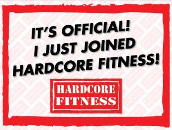 Gym Marketing Signs