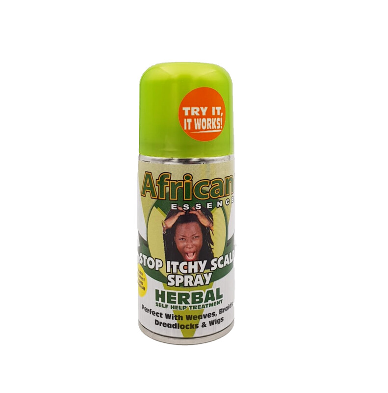 6 pack of African Essence Stop Itchy Scalp Spray 90ml