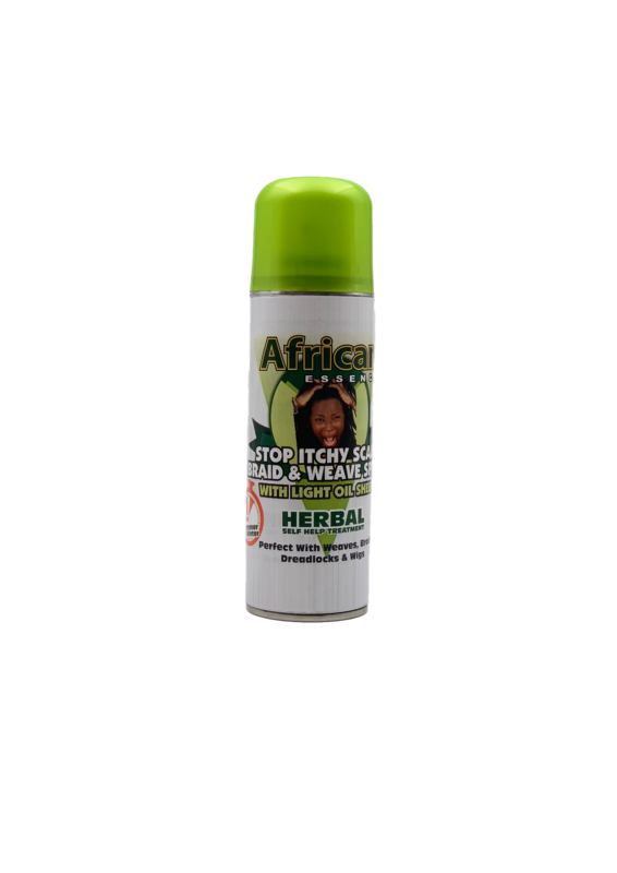 3 pack of African Essence Stop Itchy Scalp Spray 225ml