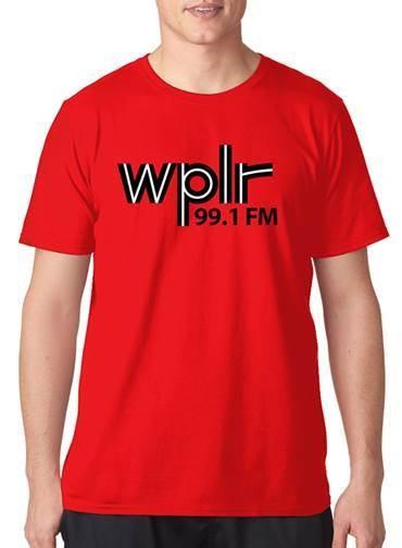 WPLR Retro 70's T-shirt
