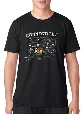 WPLR Connecticut T-shirt