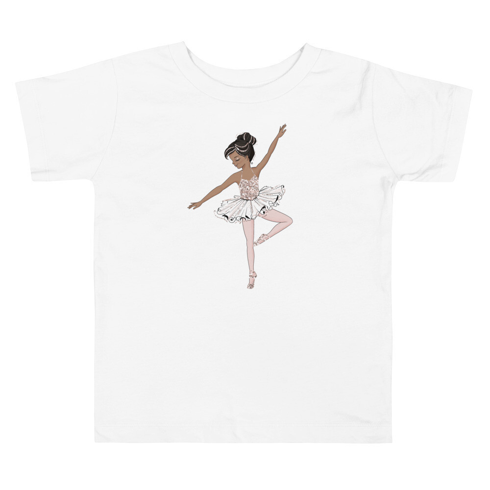 Tiny Ballerina Short Sleeve Tee - Toddler