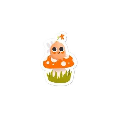 Mental Health Fairy Mushroom Sticker