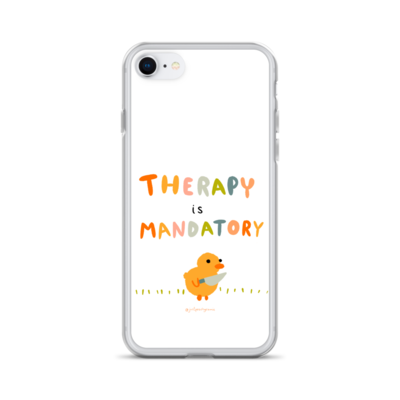 Therapy is Mandatory - iPhone Case