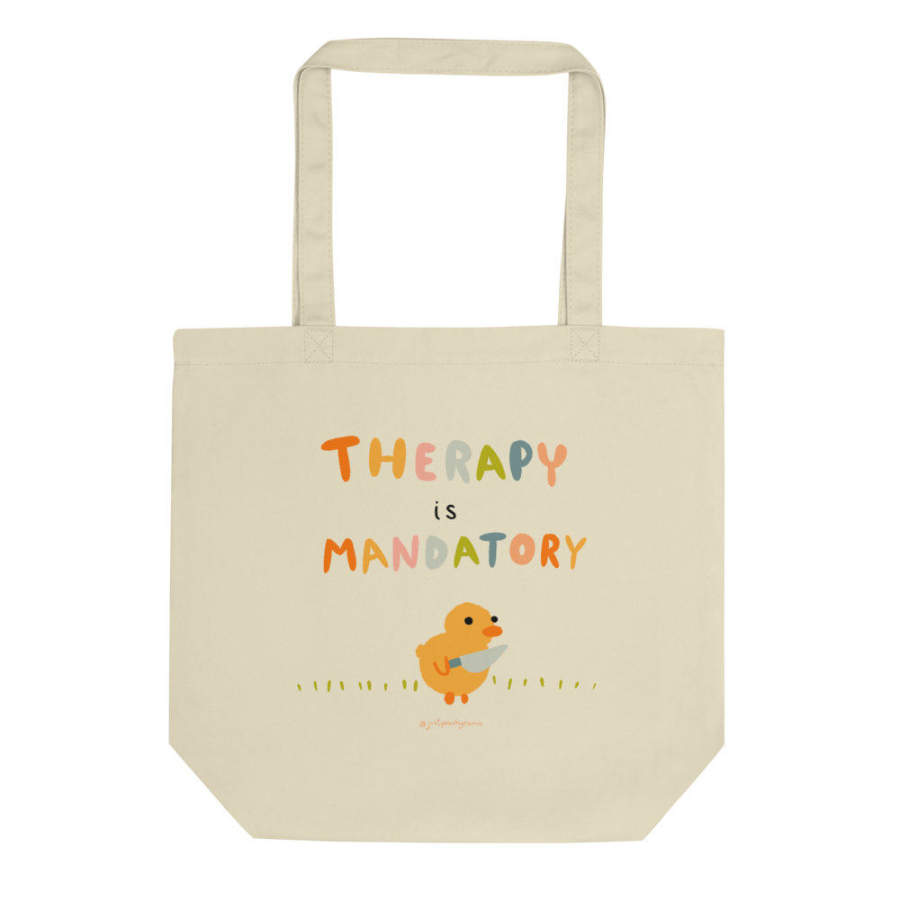Therapy is Mandatory - Tote Bag