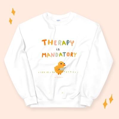 Therapy is Mandatory Sweatshirt