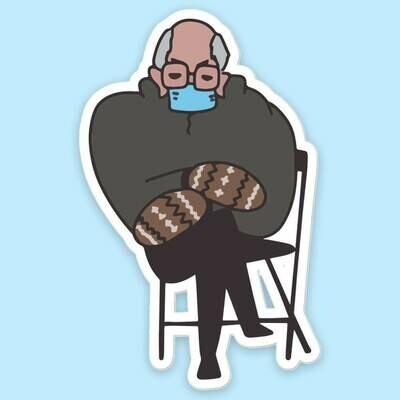 Bernie Chair Sticker