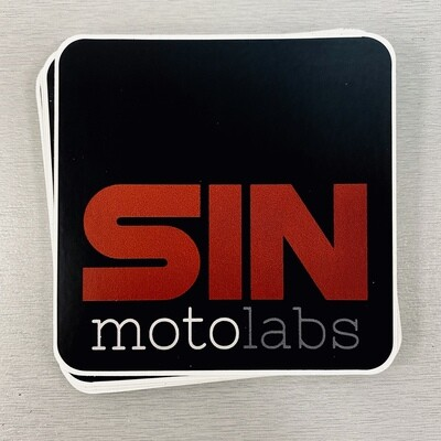 SIN motolabs Stickers
