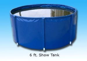 PEARLS OF PARADISE 10' Show Tank [Black], 1,507.5 Gallons