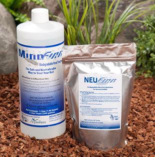 MinnFinn Regular with NeuFinn Neutralizer Treats 2,240 Gallons of Pond Water.