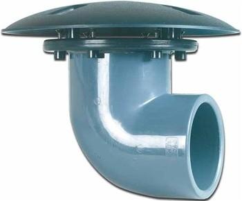 "United Aquatics Bottom Drain 4"" [2] Drains"