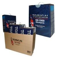 "TOMiGAi - WHEAT GERM -6 lb.[Sinking Food]  Pellet Size: ""Medium-Large"""
