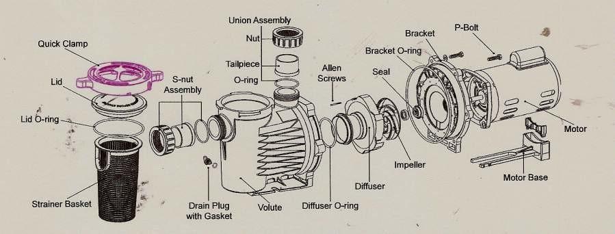 DIFFUSER XL VANE [for #8-9 Impeller
