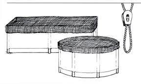 NET COVERS  5'-6' ROUND