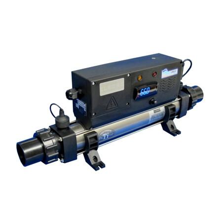 ELECRO TITANIUM INLINE POND HEATER 2 KW-115 VOLT