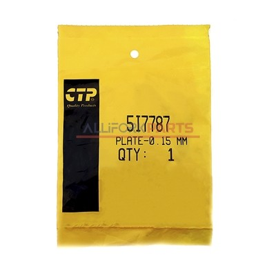 Полукольцо упорное коленчатого вала Caterpillar 3066 (5I7787) CTP
