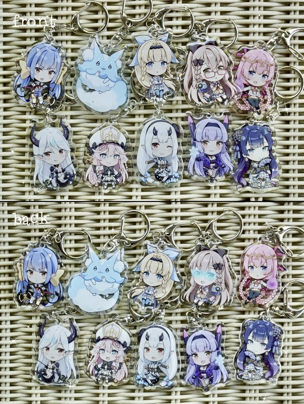 Epic Seven Keychains