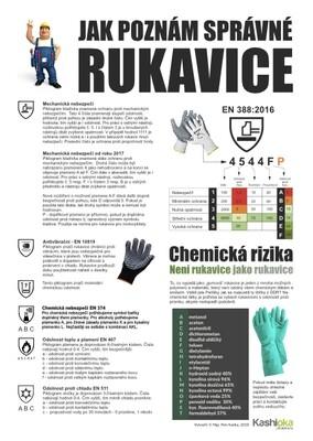 Jak poznám správné rukavice