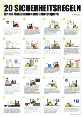 20 Sicherheitsregeln fur die Manipulation mit Gabelstaplern