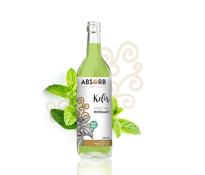 Absorb Kefir Peppermint 750ml x6