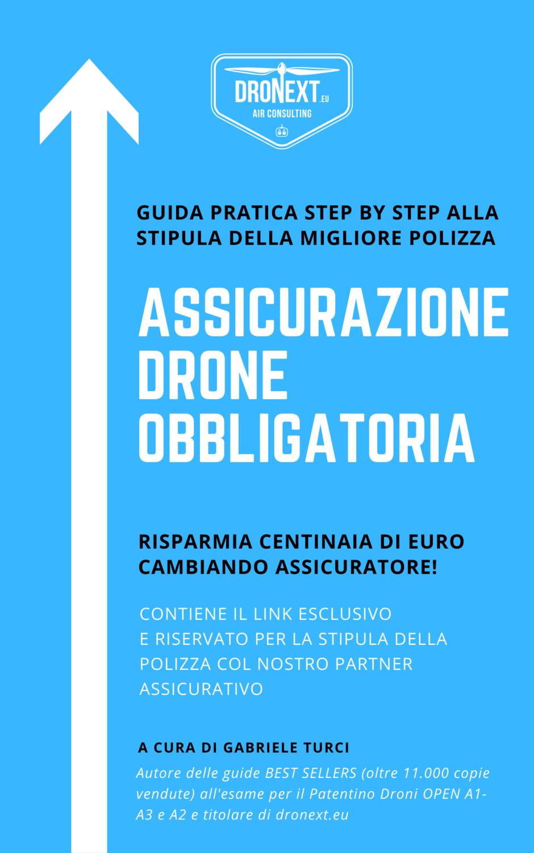 ASSICURAZIONE DRONE OBBLIGATORIA