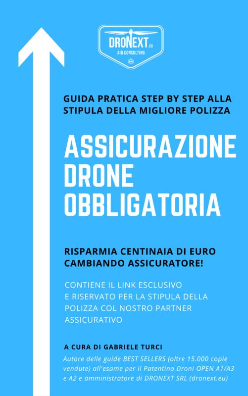 GUIDA ASSICURAZIONE DRONE OBBLIGATORIA