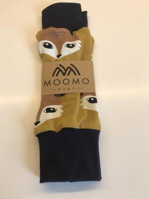 Gold Fox Baby Leg Warmers - alternative cuffs available