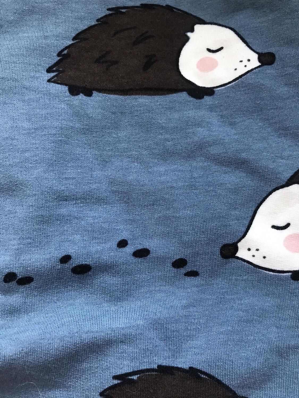 Blue hedgehog Leg Warmers - alternative cuffs available