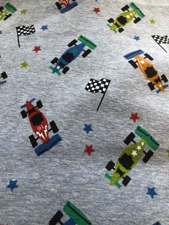 Racing Car Alpine Fleece Leg Warmers - Blue Marl