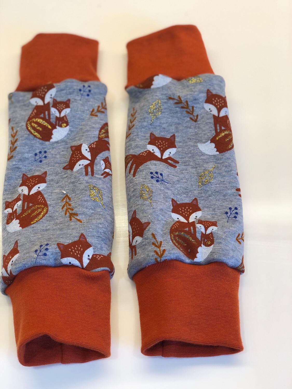 Glitter Fox Alpine Fleece Leg Warmers