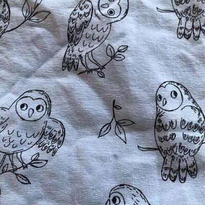 Blue Owl Baby Leg Warmers - alternative cuffs available