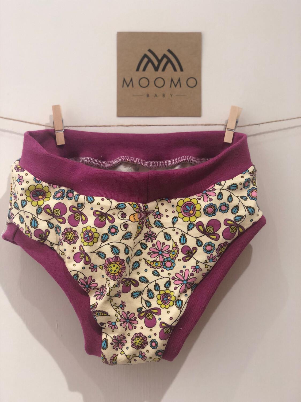 Purple Flower Kids Pants
