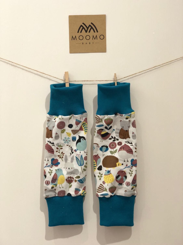 Woodland Animal Leg Warmers - alternative cuffs available