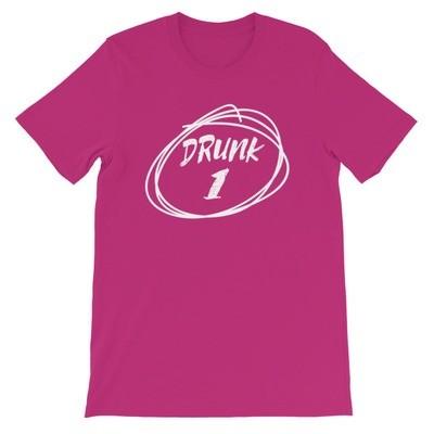Drunk 1 - T-Shirt (Multi Colors)